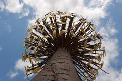 De Moderne Kunst van Luce e Ombra van Penone - Florence Boboli Gardens Stock Afbeeldingen