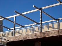 De moderne marmeren bouw royalty-vrije stock afbeelding