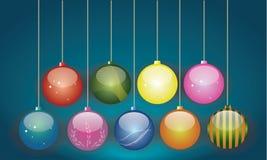 De moderne Ornamenten van ontwerpkerstmis Royalty-vrije Stock Foto's