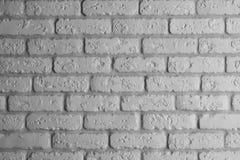 De moderne ruwe witte achtergrond van de baksteen binnenlandse muur stock afbeelding