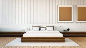 De moderne slaapkamer Royalty-vrije Stock Foto