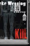 De moderne stijl van de het ontwerpmanier van de affichekunst; collage grafische vector Stock Afbeelding