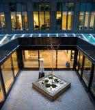 De moderne Streepjescode van het architectuurdetail, Oslo royalty-vrije stock foto's