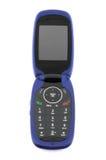 De moderne telefoon van de clamshellcel stock foto