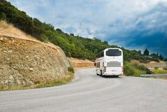 De moderne toeristenbus Stock Foto's