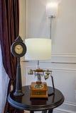 De moderne van de de lijstdecoratie van het luxe binnenlandse huis villa van de het ontwerptelefoon Royalty-vrije Stock Afbeelding
