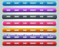 De moderne Vector van de Elementen van het Web Royalty-vrije Illustratie