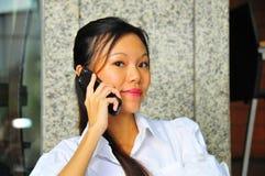 De Moderne Vrouw van de carrière Stock Foto's