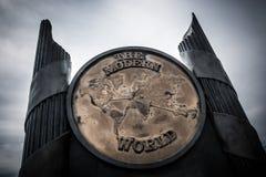 De Moderne Wereld Stock Afbeelding