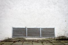 De moderne witte muur van de pleisterstraat Stock Foto's