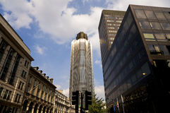 De moderne Wolkenkrabbers van de Stad Stock Foto's