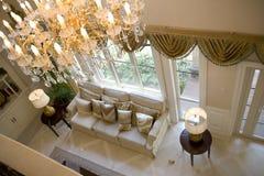 De moderne woonkamer van de luxe Royalty-vrije Stock Foto's