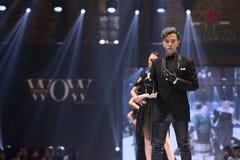 De modeshow van ` Vientiene vormt WAUW Week 2017 ` Royalty-vrije Stock Foto
