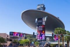 De Modeshowwandelgalerij van Las Vegas Stock Foto