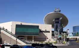 De Modeshowwandelgalerij van Las Vegas met Neiman Marcus Stock Fotografie