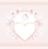 De modieuze kaart van Valentine Stock Afbeeldingen