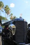 De modieuze koplamp van de voor zijaanzicht klassieke auto Royalty-vrije Stock Foto's