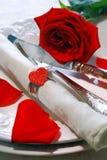 De modieuze Valentijnskaarten dienen het Plaatsen in Royalty-vrije Stock Fotografie