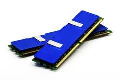De modules van het geheugen Stock Foto's