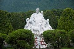 De Moeder van het landschapsbeeldhouwwerk Royalty-vrije Stock Afbeeldingen