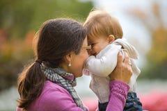 De moeders houden van Stock Foto's
