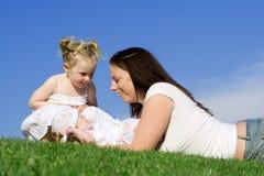 De moeders houden van royalty-vrije stock foto