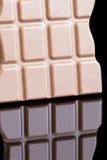 De Moeilijke situatie van de chocolade Stock Afbeelding