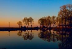De moerassen van Biebrza stock afbeelding