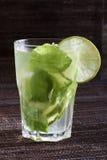 De Mojitokalk drinkt Cocktail royalty-vrije stock afbeeldingen