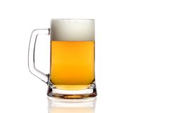 De mok van het bier stock afbeelding