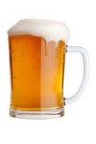 De mok van het bier Stock Afbeeldingen