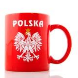 De mok van Polen royalty-vrije stock foto's