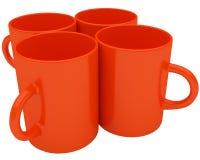 De mokken van de koffie Stock Foto's