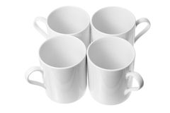 De Mokken van de koffie Royalty-vrije Stock Afbeelding