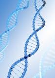 De molecule van DNA Stock Foto's