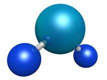 De molecule van het water Stock Foto's