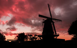 De Molen of Foxton Royalty Free Stock Photo