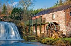De molen Olde door de Daling Royalty-vrije Stock Foto