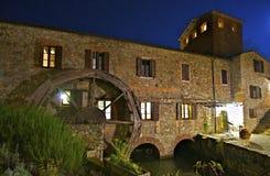 De Molen van de daling in Toscanië Royalty-vrije Stock Afbeeldingen