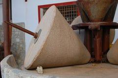 De molen van de olijf Stock Fotografie