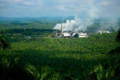 De Molen van de palmolie Stock Foto
