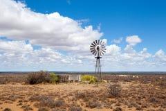 De molen van de wind in Vrije Staat Stock Foto's
