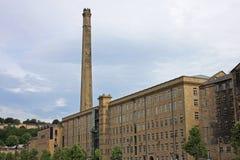 De molen van Dean Clough Stock Fotografie