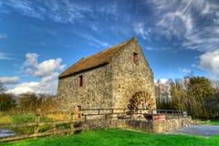 De molen van het graan in VolksPark Bunratty Royalty-vrije Stock Foto