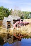 De molen van het maalkoren stock afbeelding
