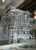 De molen van het papier en van de pulp Royalty-vrije Stock Foto