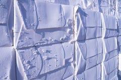 De molen van het papier en van de pulp - Cellulose royalty-vrije stock foto