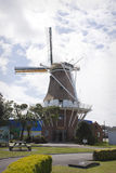 De Molen Windmill, Foxton. De Molen Windmill in the town of Foxton, New Zealand Stock Image