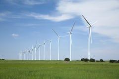 De molens van de energie Stock Fotografie