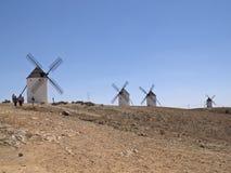 De molens van de wind royalty-vrije stock afbeelding